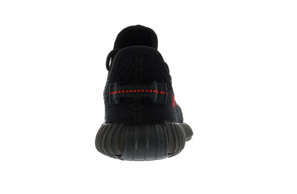 slide 4 - Yeezy 350 Black Red (Infants)