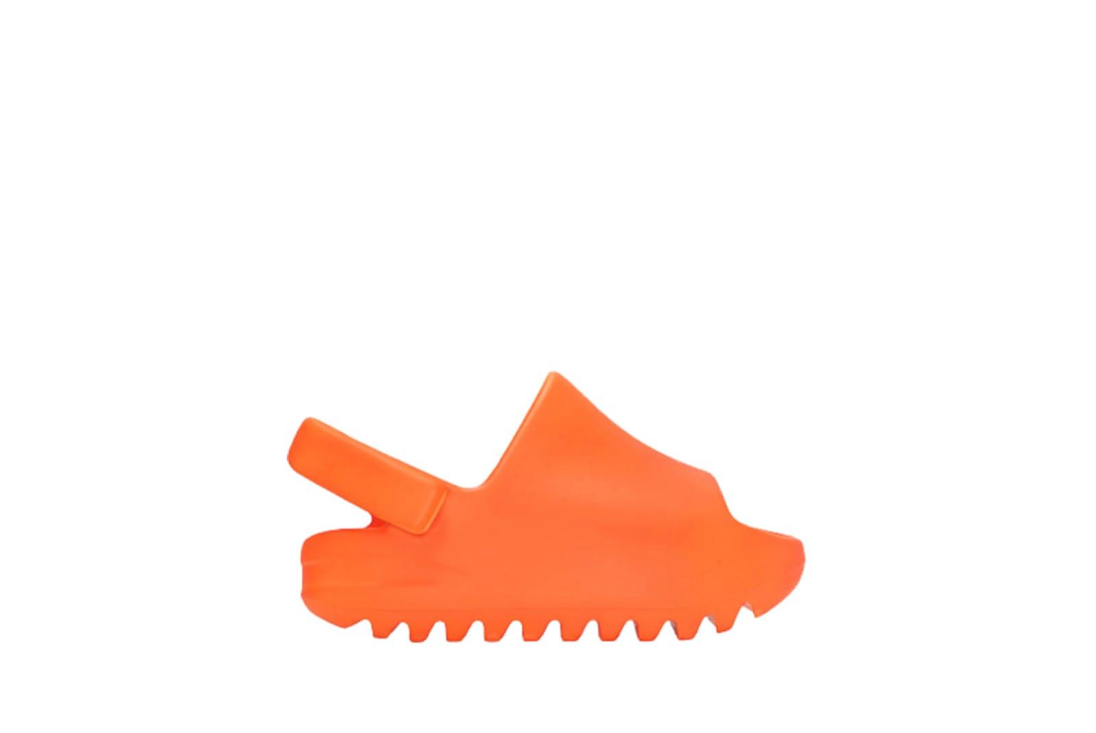 slide 1 - Yeezy Slide Enflame Orange (Infants)