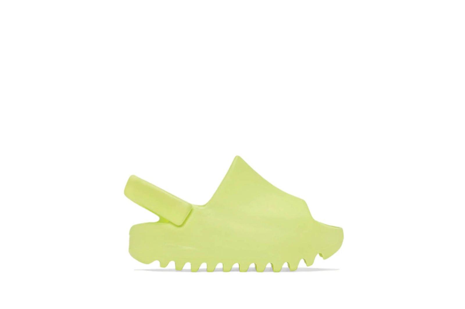 slide 1 - Yeezy Slide Glow Green (Infants)