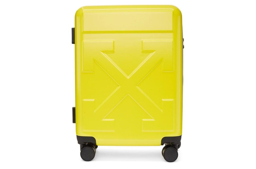 slide 1 - Yellow Arrows Suitcase