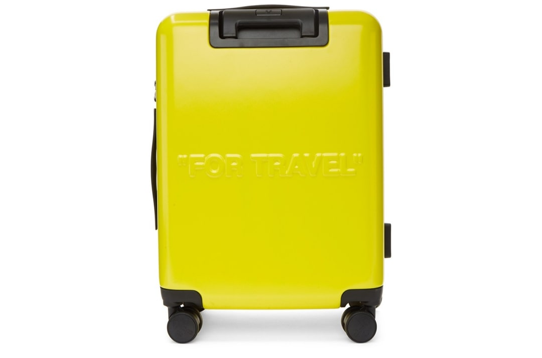 slide 2 - Yellow Arrows Suitcase