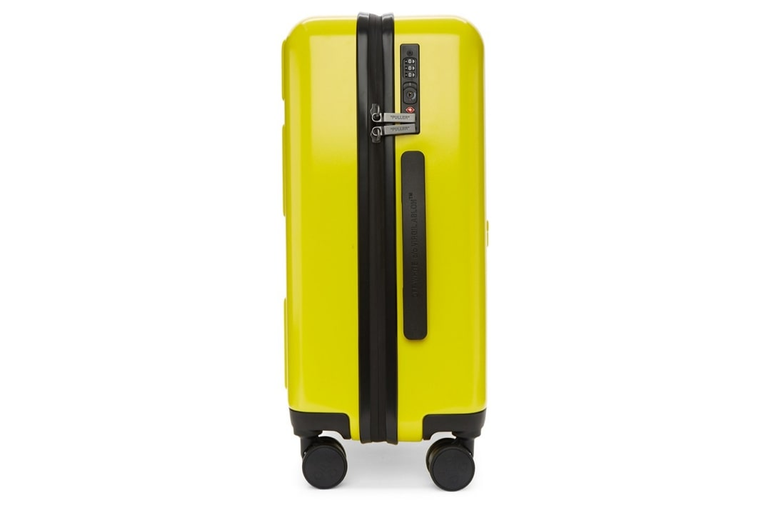 slide 4 - Yellow Arrows Suitcase