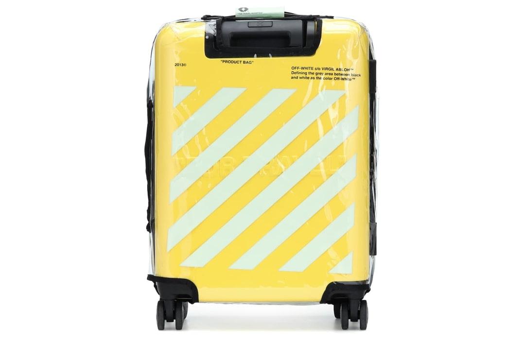 slide 3 - Yellow Arrows Suitcase