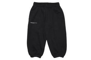 Black Organic Cotton Track Pants