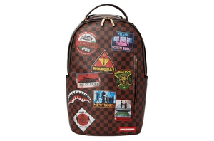 Travel Patches Backpack