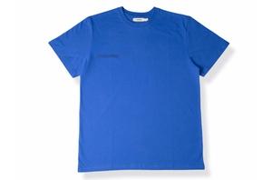 Organic Cotton Tshirt - Cobalt Blue
