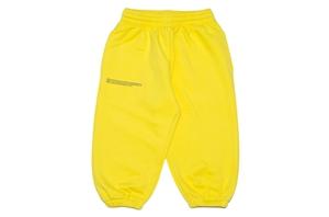 Saffron Yellow Organic Cotton Track Pants