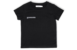 Black Organic Cotton Tshirt