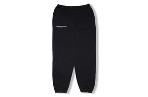 Heavyweight Cotton Track Pants - Black