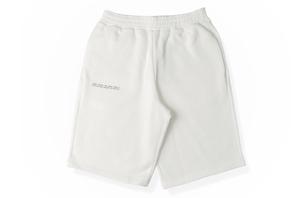 Heavyweight Cotton Long Shorts - Off White