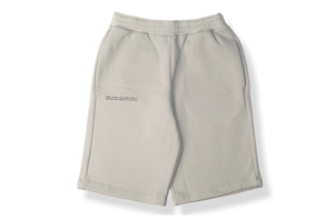 Heavyweight Cotton Long Shorts - Stone