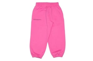 Flamingo Pink Organic Cotton Track Pants
