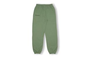 Lightweight Cotton Track Pants - Khaki