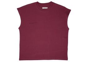 Cropped Shoulder Tshirt - Cherry