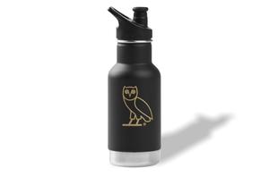 Kanteen Owl Black Water Bottle (Small)