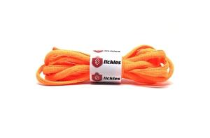Basics Oval Laces - Vibrant Orange