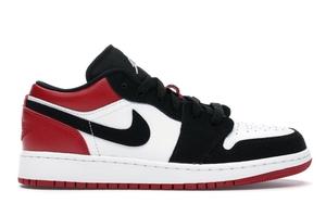 Jordan 1 Low Black Toe (GS)