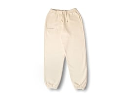 Heavyweight Cotton Track Pants - Sand